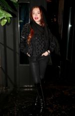 Lindsay Lohan Leaving a nightclub in Athens