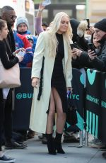Lindsey Vonn Outside AOL Build in NYC