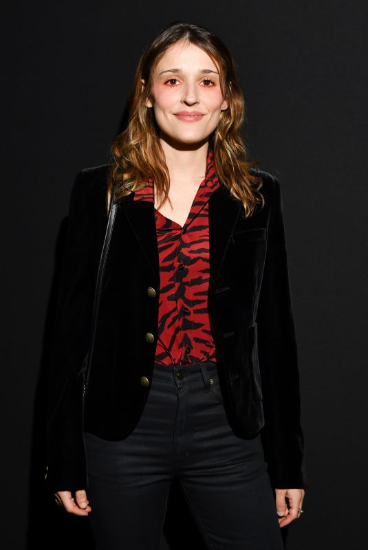 Lola Bessis Attends the Saint Laurent show as part of the Paris Fashion Week Womenswear Fall/Winter 2019/2020