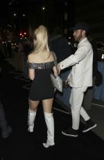 Lottie Moss At 39th Brit Awards After-Party in London