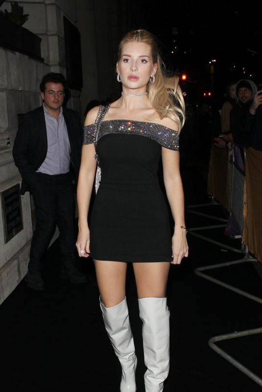 Lottie Moss At 39th Brit Awards, After-Party, London