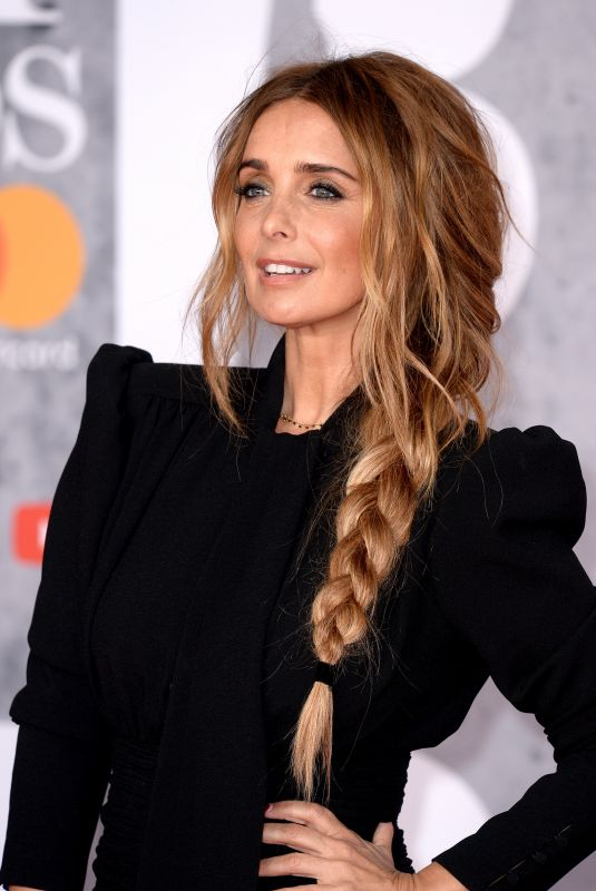 Louise Redknapp At The BRIT Awards 2019 held at The O2 Arena in London