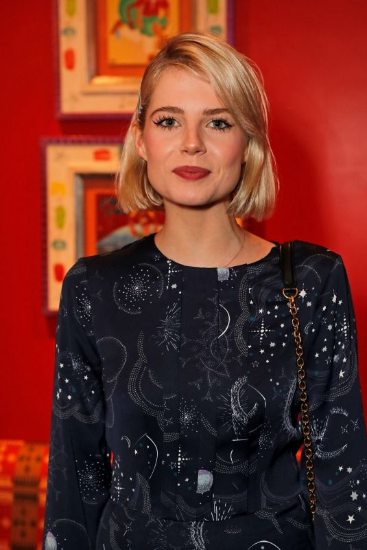 Lucy Boynton At Casting Awards at The Ham Yard Hotel in London
