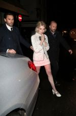 Lucy Boynton Out in London
