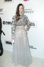 Lydia Hearst At Elton John AIDS Foundation Viewing Party in Los Angeles