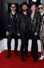 Lzzy Hale (Halestorm) At 61st Annual Grammy Awards Los Angeles