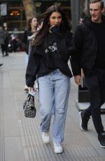 Madison Beer Arrives AOL Build TV Series in London