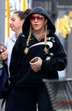 Madonna Steps out for spin class in West Hollywood