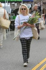 Mae Whitman Shopping at the Farmers Market in Studio City