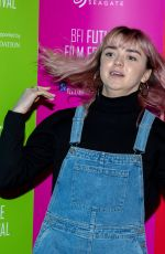 Maisie Williams At BFI Future Film Festival at BFI Southbank in London