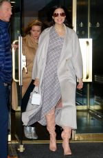 Mandy Moore Leaving the Today Show in New York City