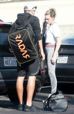 Margot Robbie Arrives at the gym in LA