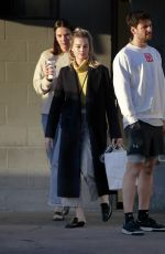 Margot Robbie Out with her friends in Los Angeles