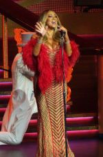 Mariah Carey Makes some funny faces on final night of Las Vegas Residency