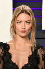 Martha Hunt At 2019 Vanity Fair Oscar Party hosted by Radhika Jones at Wallis Annenberg Center for the Performing Arts in Beverly Hills