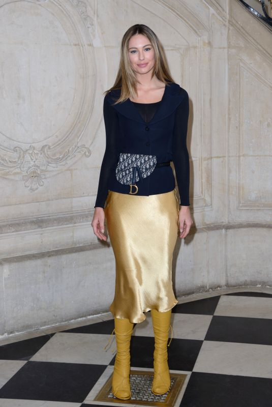 Mathilde Goehler Attending the Christian Dior show as part of the Paris Fashion Week Womenswear Fall/Winter 2019/2020