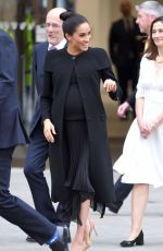 Meghan, Duchess of Sussex Visits the Association of Commonwealth Universities at City, University Of London
