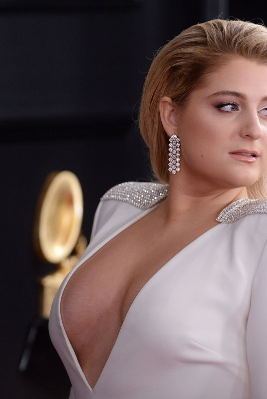 Meghan Trainor At 61st Annual Grammy Awards in LA