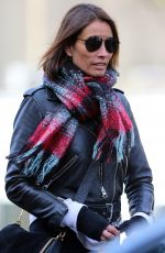 Melanie Sykes Out and about in north London