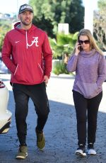 Melissa Joan Hart and Mark Wilkerson out and about in Studio City