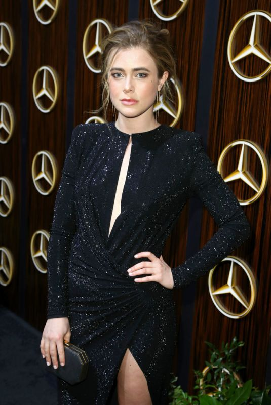 Melissa Roxburgh At Mercedes-Benz Oscars Viewing Party in Beverly Hills