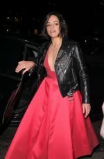 Michelle Rodriguez At Vogue BAFTA party in Mayfair London
