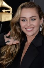 Miley Cyrus At 61st Annual Grammy Awards in LA