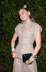 Miley Cyrus At Charles Finch & CHANEL Pre-Oscar Awards Dinner in Los Angeles