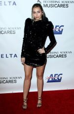Miley Cyrus At MusiCares Person of the Year honoring Dolly Parton at Los Angeles Convention Center in Los Angeles