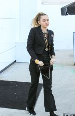 Miley Cyrus At the Chanel store in LA