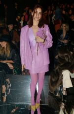 Miriam Leone At Gucci show, Front Row, Fall Winter 2019, Milan Fashion Week, Italy
