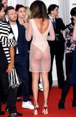 Montana Brown At The BRIT Awards 2019 held at The O2 Arena in London