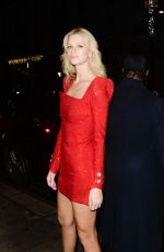 Nadine Leopold At Late Fabulous Fund Fair at the Roundhouse in London during LFW A/W 2019