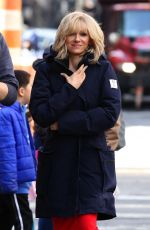"""Naomi Watts As she transforms into Gretchen Carlson for the upcoming Roger Ailes project """"The Loudest Voice"""" in NY"""