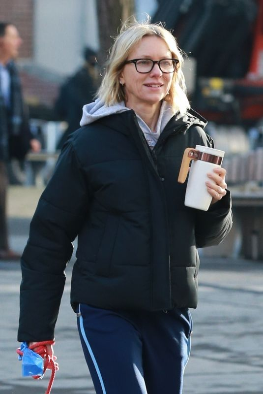Naomi Watts Our for a stroll in Tribeca, New York City
