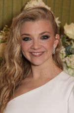 Natalie Dormer At British Vogue Fashion and Film BAFTA party, Annabel