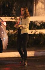 Natalie Portman At Night out in Los Angeles