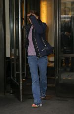 Natalie Portman Leaving the Mark Hotel in New York City