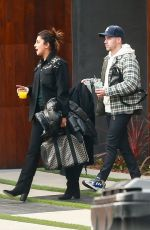 Nick Jonas and Priyanka Chopra get set to jet out of LA ahead of Super Bowl weekend