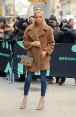 Nicky Hilton At AOL Build Series in New York