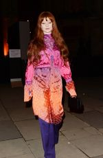 Nicola Roberts Attends a private view of the
