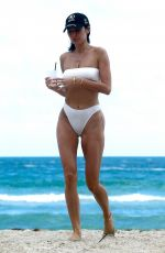 Nicole Williams In a bikini at Miami Beach
