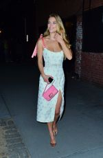 Nina Agdal Arrives to the Tiffany & Co party in NYC