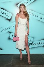 Nina Agdal At Tiffany & Co. Modern Love Photography Exhibition in NYC