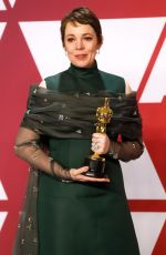 Olivia Colman At 91st Annual Academy Awards in Los Angeles