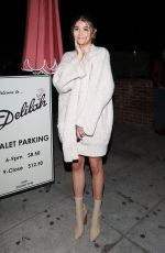 Olivia Jade Giannulli Waits for her car outside of Delilah Nightclub in West Hollywood