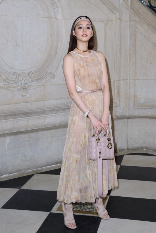 Ora Yang Attending the Christian Dior show as part of the Paris Fashion Week Womenswear Fall/Winter 2019/2020