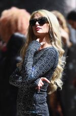 Paris Hilton At The Blonds show during New York Fashion Week
