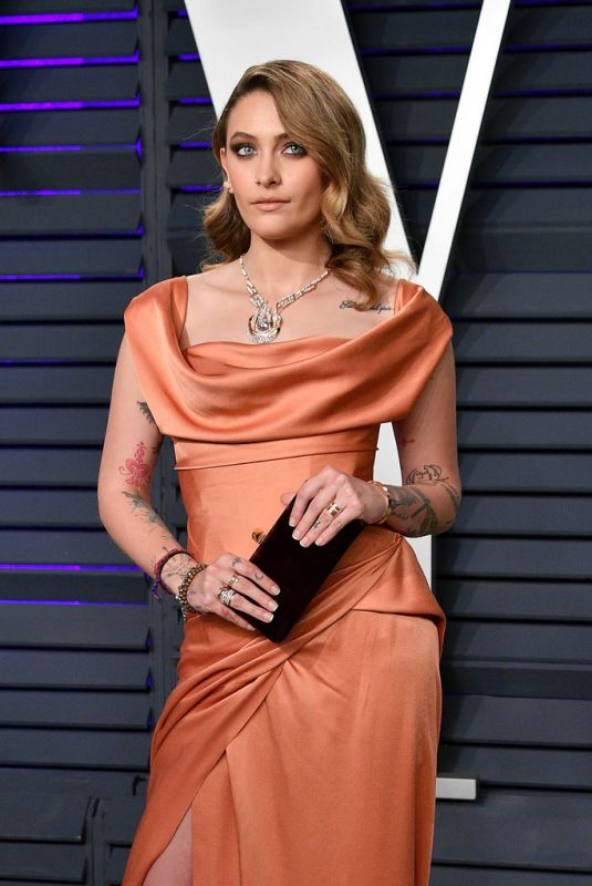 Paris Jackson At 2019 Vanity Fair Oscar Party in Beverly Hills