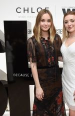 Peyton R. List At Chloe Wine Collection Launches Its She Directed Campaign in Beverly Hills